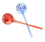 Colorful Creative Aqua Globes Watering Hand Blown Glass (2-Pack)