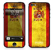 "Pelle Codice Da ™ per iPhone 4/4S: ""Spagna"" (Bandiere Serie)"