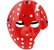 Plastic Killer Half-face Mask (Red)