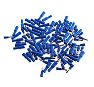 Aislado Bullet Style macho y hembra Juego de conectores de terminales - Azul (50-Pair Pack)
