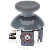 Ersatz 3D Rocker Joystick Cap Shell Mushroom Caps für XBOX360 Wireless Controller (Gray)