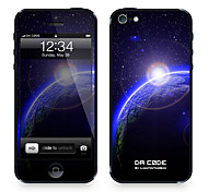 "Da Code ™ Skin for iPhone 5/5S: ""Sunrise on Earth"" (Universe Series)"
