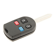 Ford Mercury 4-Button Remote Key Shell