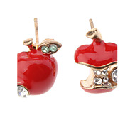 Apple Diamond Earrings
