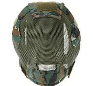 A terceira geração de Floresta Steel Wire Máscara de Proteção (verde escuro)