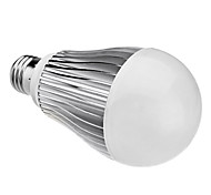E26/E27 LED Globe Bulbs A60(A19) 12 High Power LED 1050 lm Natural White AC 85-265 V