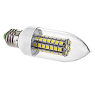 E26/E27 7 W 63 SMD 5050 650 LM Warm White/Cool White C Decorative Candle Bulbs AC 220-240 V
