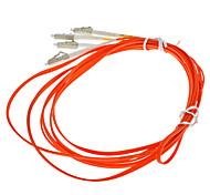 Cabo de fibra óptica, LC / LC-UPC, Multi Modo, Duplex - 3 metros (62.5/125 Type)