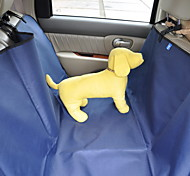 Car Back Seat Pet Dogs Cats Oxford Fabric Safety Travel Hammock Cover Mat
