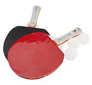 3ding lungo manico in legno racchette da ping-pong (2 pz)
