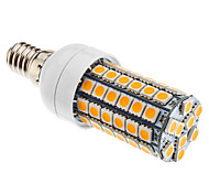 Ampoule Maïs Blanc Chaud E14 6 W 69 SMD 5050 600 LM 3000K K AC 100-240 V