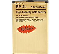 OME batería del teléfono celular para Nokia 2680, E52, E63, etc (3.7V, 3030mAh)