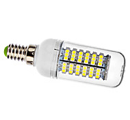 5W E14 LED Corn Lights T 138 SMD 3528 440 lm Natural White AC 220-240 V