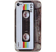Cool Tape Pattern Hard Case for iPhone4/4S