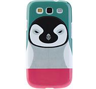 Modello Penguin Custodia protettiva TPU per Samsung Galaxy S3 I9300