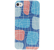 Maze Pattern Hard Case für iPhone 4/4S