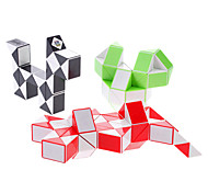 3-in-1 36 Parts Brain Teaser Magic IQ Cube (Random color)