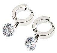 Diamant-Ohrringe hängend Edelstahl * 1