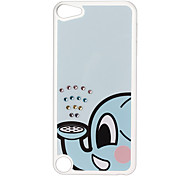 Blue Elephant Pattern Hard Case with Rhinestone for iPod Touch 5