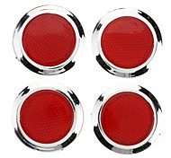 Round Shape Stick-on Reflector for Car (4-Piece)