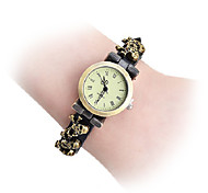 Vintage Skull Pattern PU Wrist Watch