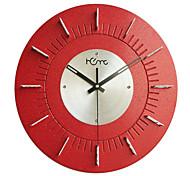 "15.4 ""relógio de parede número h estilo"