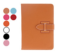 Litchi Grain PU Leather Case w/ Stand & Card Slot for iPad mini 3, iPad mini 2, iPad mini (Assorted Colors)