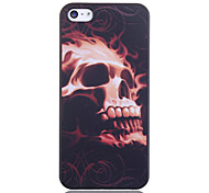 Burning Skull Printing Back Case for iPhone 5/5S