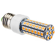 E26/E27 6W 63 SMD 5050 550 LM Warm White T LED Corn Lights AC 220-240 V