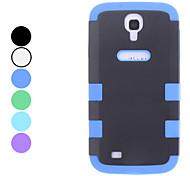Staccabile Custodia protettiva TPU per Samsung Galaxy i9500 S4 (colori assortiti)