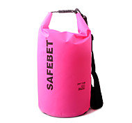 20 L Waterproof Dry Bag Outdoor Yellow / Red / Black / Blue / Orange / Assorted Colors Nylon / Polycarbonate