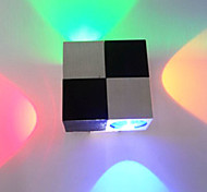 4W Modern Led Wall Light with Scattering 4 Lights Abstract Cubic Design