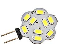 Luces de Doble Pin G4 2.5 W 9 SMD 5730 220 LM 6000K K Blanco Natural DC 12 V
