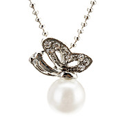 The butterfly Pearl Necklace
