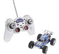 Wltoys 1:32 High Speed Remote Control Racing Car With Flashing LED (Red,Silver,Blue)