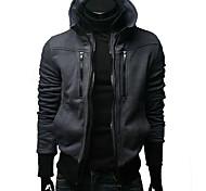 Männer Slim Stehkragen dicke Jacke