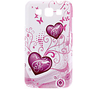 Heart Shape Pattern Hard Case for Samsung Galaxy Win I8552