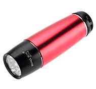 LED Flashlights / Handheld Flashlights LED 1 Mode 100 Lumens Waterproof Others AAA Camping/Hiking/Caving - SmallSun , Red Aluminum alloy