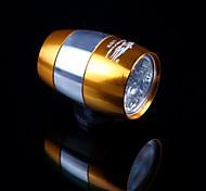 Luces para bicicleta , Luces Frontales - 1 Modo Lumens baterías de la célula Batería Ciclismo/Bicicleta Negro / Rojo / Oro Bicicleta