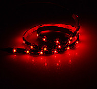 60cm 2W 30x3528SMD Red Light LED Strip Lamp (DC 12V)