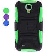 Removable Belt Clip Hard Case with Stand for Samsung Galaxy S4 I9500 (Assorted Colors)