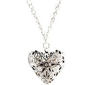 hohle Herzen Halskette
