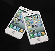 iphone 4s branco padrão auto-adesivos notas