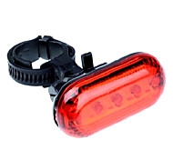 5-LED 6-Modes Bike Safety Tail Light with Mount Clip