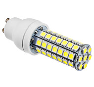 6W GU10 LED Corn Lights T 63 SMD 5050 550 lm Natural White AC 220-240 V