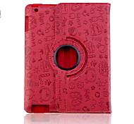 Modello Custodia in pelle adorabile Faerie PU per iPad 2/3/4