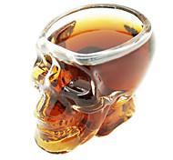 Skull Pattern Wine Glass