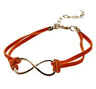 Leather Cord Establishment of Eight Bracelets