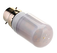 B22 4W 24x5050SMD 280LM 3000-3500K Warm White Light LED Corn Bulb (85-265V)