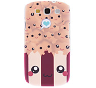 Matte Style Smile Face Pattern Durable Hard Case for Samsung Galaxy S3 I9300